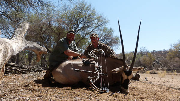 Conservation Hunting Trophies - Oryx/Gemsbuck
