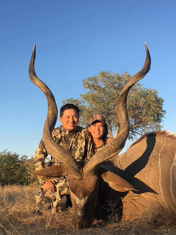 Conservation Hunting Trophies - Kudu