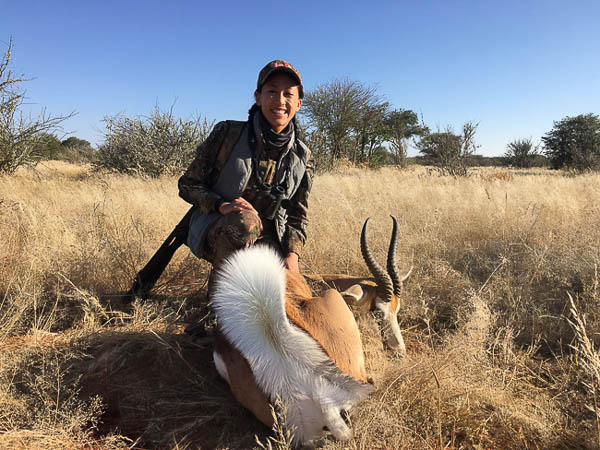 Conservation Hunting Trophies - Springbok
