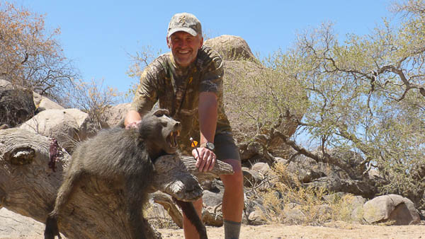 Conservation Hunting Trophies - Baboon