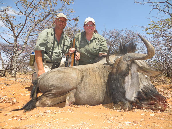 Conservation Hunting Trophies - Blue Wildebeest
